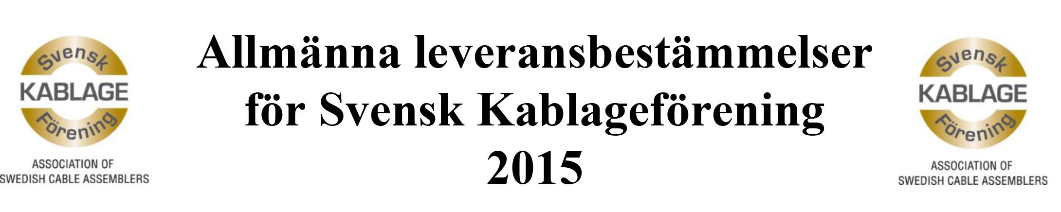 Ladda ned Svenska Kablageföreningens Allmänna Leveransbestämmelser här>>