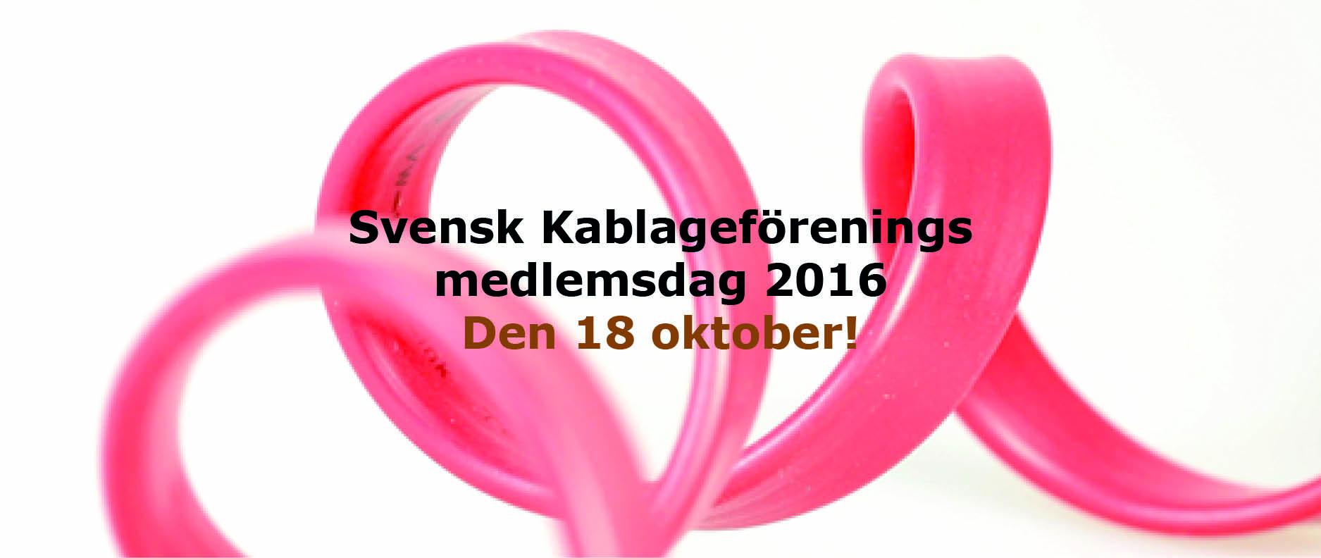 Medlemsdag 2016